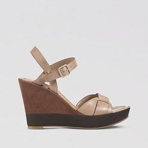 Cole Haan Platform Wedge Sandals Air Paley Size 8